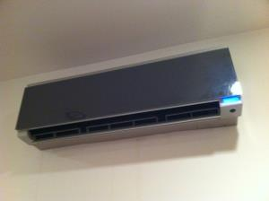 A minisplit system is great for heating or cooling a single room - like an addition - or a home without ducts/vents.