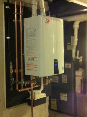 If you have thought about a tankless water heater, or just don't have the room for a big water heater tank, perhaps a Navien is right for you. We install these high efficiency water heaters under the Clean Energy Program through the state of NJ.