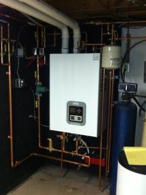 A Triangle Tube High Efficiency Combination Boiler and Water Heater is quiet, efficient and compact. Find out more on www.triangletube.com or by calling us and talking to our home comfort adviser - 856-939-4299..